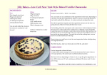 JillyBakes Low Carb Recipes Set 1 with Wipe Clean Laminate